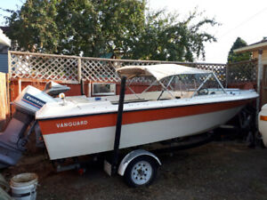 Vanguard Fiberglass Boat (16 Foot)