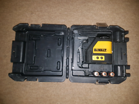 Laser level Dewalt DW087