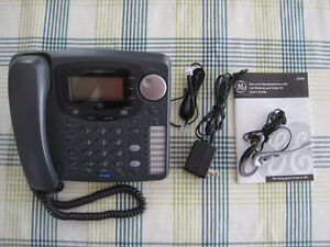 GE Two Line Phone with Call Waiting and Caller ID