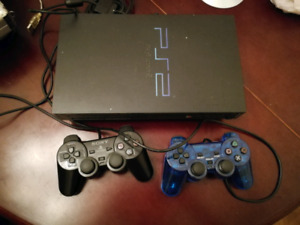 Ps2 console with games and