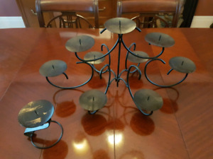 Candle holder set nice table piece for entertaining