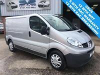 2014 14 RENAULT TRAFIC SWB 6 SPEED 115BHP METALLIC PAINT ELEC PACK *CLEAN VAN*