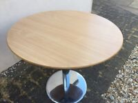 Round office table or craft table