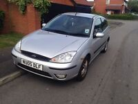 Ford Focus Zetec, 2005, 10 Months Mot, 1 Lady Owner From New...