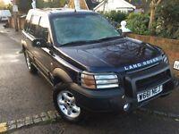LEFT HAND DRIVE Land Rover Freelander LHD