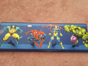 Marvel Comics- coat hook,  cool for any room