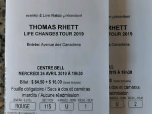 Billets Thomas Rhett Concert Tickets