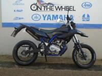2014 14 YAMAHA WR 125 X ***DARK PURPLE WHEELS*** **HPI CLEAR**