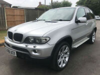 "2006 BMW X5 3.0d Sport Special stunning pan roof 20"" alloys may part ex"