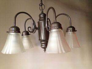 Five-light ceiling pendant fixture