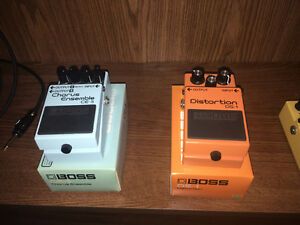 Boss and Danelectro Pedals