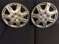 Like New, 17 inches Wheel Covers