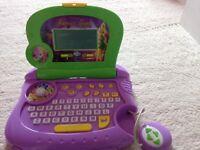 Tinkerbell laptop toy