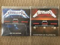 Metallica: Ride The Lightning & Master Of Puppets 45rpm Vinyls