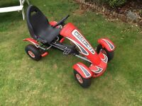 Child pedal go-kart