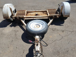 HEAVY DUTY CAR TOW DOLLY - For towing cars, vans & trucks