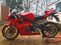 Triumph Daytona 675, immaculate condition, low Miles