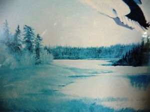 """Metis Wilderness Lithograph by Eddie Le Page """"Blood Brothers"""" Stratford Kitchener Area image 6"""
