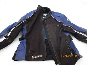 Joe Rocket Ladies Motorcycle Jacket and leather chaps