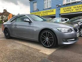 BAD CREDIT CAR FINANCE AVAILABLE 2012 62 BMW 325d COUPE SE AUTOMATIC