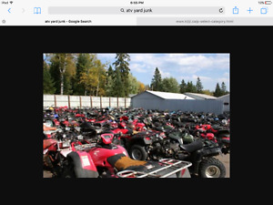 WANTED BROKEN ATVS FOR PARTS