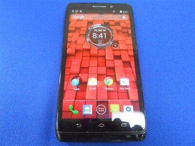 BLACK GOOD VERIZON & FACTORY UNLOCKED FOR GSM MOTOROLA DROID MAXX XT1080M