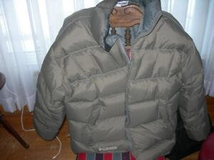 Columbia   Mens   Large   Down   Jacket