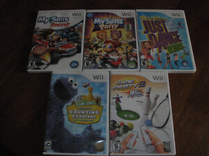 Two Wii games
