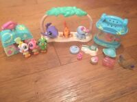 Littlest Pet Shop beach set