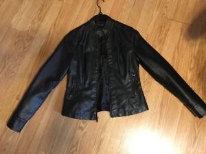 Women's leather jackets/sweaters. Gently worn. $10 a piece
