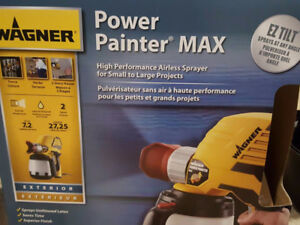 wagner power painter max airless sprayer