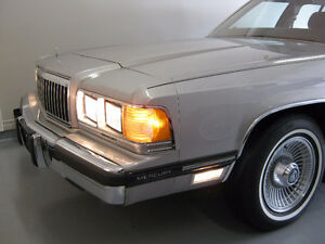 MERCURY GRAND MARQUIS 1991 NEW MUFFLER AND TAILPIPE
