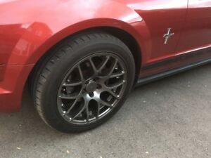 4 roues Mustang 18po American Muscle