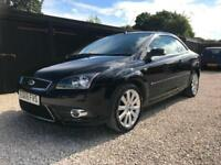 2008 Ford Focus CC 2.0 CC-3,97000 MILES,TAN LEATHER,SERVICE HISTORY,CABRIOLET