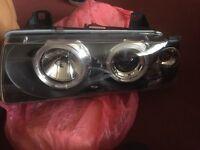 BMW Series 3 headlights