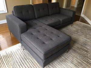 Trend-Line Furniture Sofa Chaise - Brand New  Asking $1300
