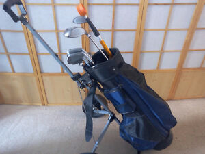 Men's Knight Left Hand Golf Clubs with bag & Cart