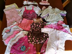 Girls clothes lot, 3-6 months
