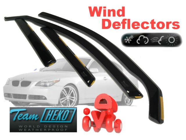 BMW 5 E60 2004 - 2010 SALOON  Wind deflectors 4.pcs  HEKO  11132