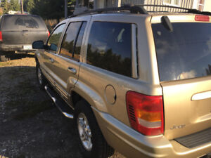 2000 Jeep Grand Cherokee Limited 4X4SUV, Crossover