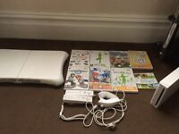 Nintendo wii and wii fit balance board