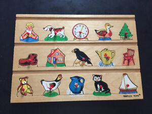 FISHER-PRICE WOOD PUZZLES