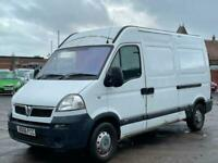 * 2006 VAUXHALL MOVANO 2.5 CDTI MWB HIGH ROOF + CLICK & COLLECT *