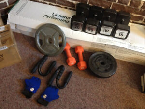 Assorted weights lot - great condition
