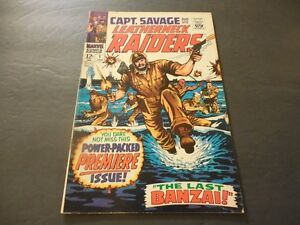 Marvel Captain Savage # 1 in good condition - (1968)