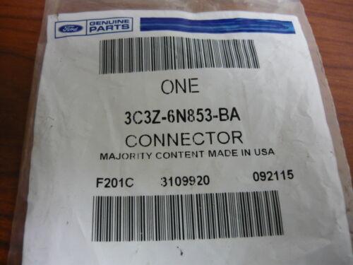 FORD OEM 08-10 E-350 Super Duty 6.0L-V8 Oil Cooler-Connector 3C3Z6N853BA