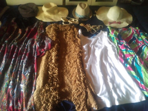 Hippie costumes for four