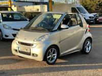2011 smart fortwo cabrio Pulse mhd 2dr Softouch Auto [2010] CONVERTIBLE Petrol A