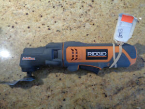 RIDGID R8223400 with R8223404 Multitool ( bare tool ) ONLY 40.00