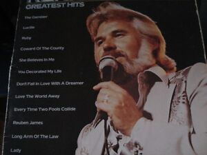 disque vinyle KENNY ROGERS